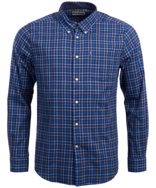 Men's Barbour Ethan Tailored Shirt - Dark Navy Check