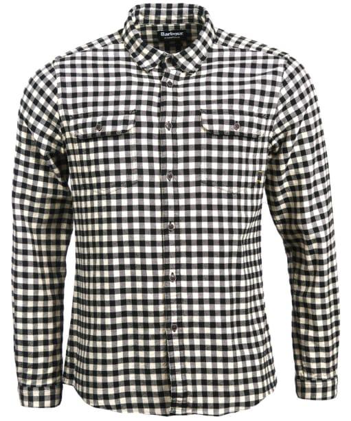 Men's Barbour International Killinger Shirt - Black Check