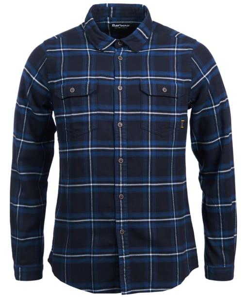 Men's Barbour International Dash Shirt - Soot Check
