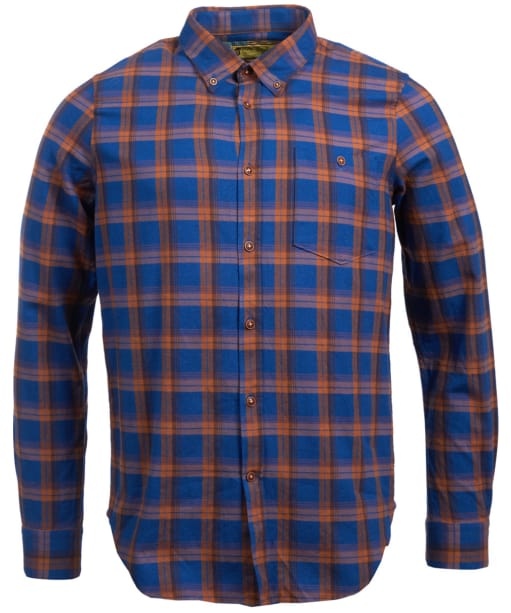 Men's Barbour Steve McQueen Axle Shirt - Monaco Blue Check