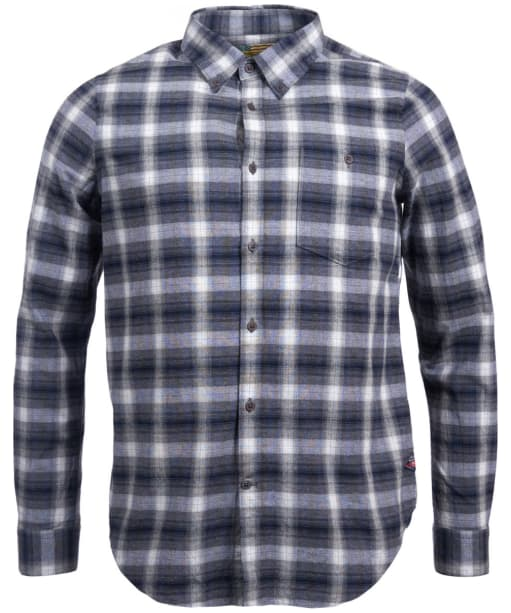 Men's Barbour Steve McQueen Pipe Shirt - Grey Marl Check