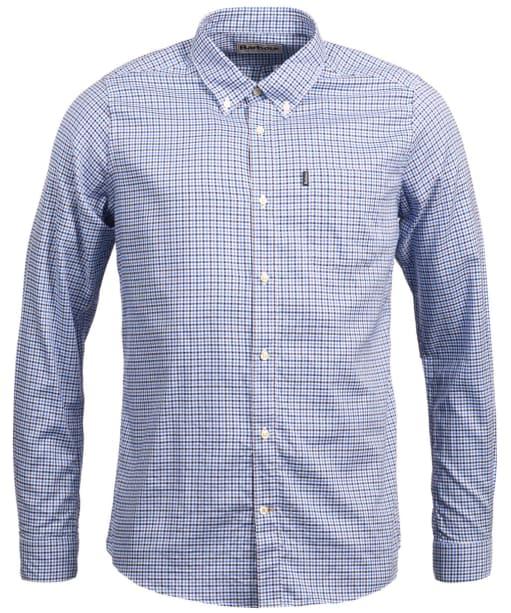 Men's Barbour Endsleigh Oxford Check Shirt - Navy