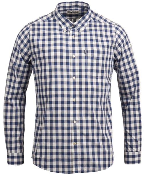 Men's Barbour Endsleigh Gingham Shirt - Deep Blue