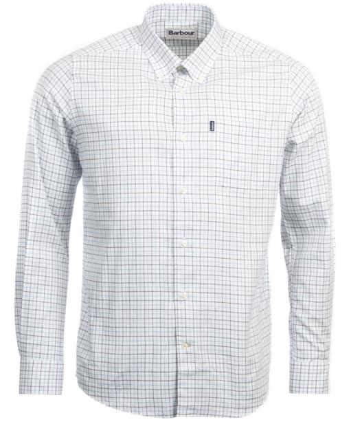 Men's Barbour Stapleton Tattersall Shirt - Blue