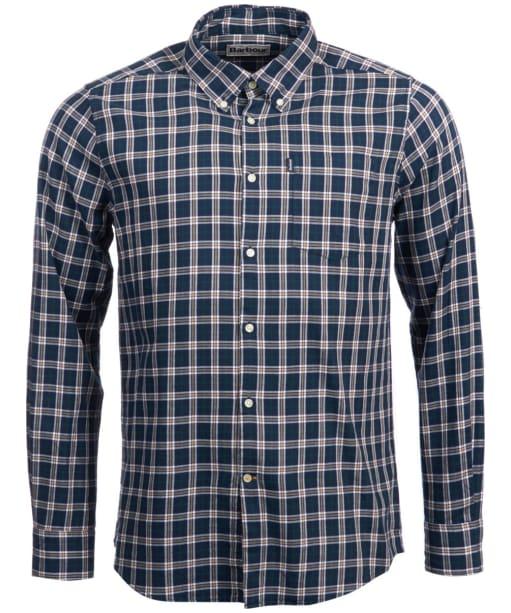 Men's Barbour Stapleton Country Check Shirt - Navy