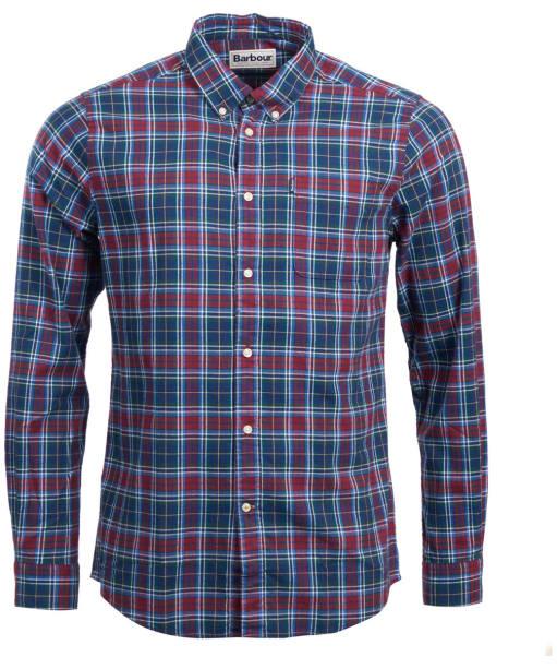 Men's Barbour Endsleigh Highland Check Shirt - Biking Red