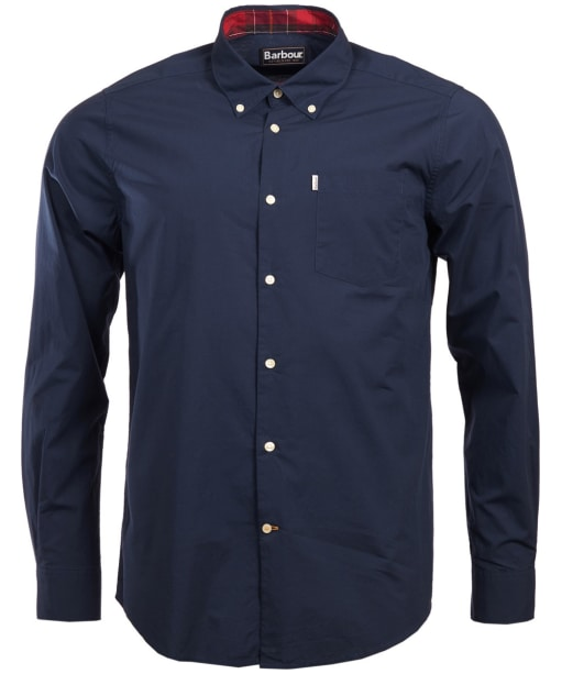 Men's Barbour Helvellyn Tailored Fit Shirt - Navy