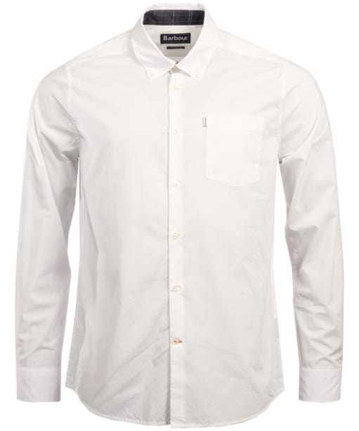 Men's Barbour Helvellyn Tailored Fit Shirt - White