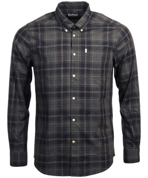 Men's Barbour Wetheram Shirt - Graphite