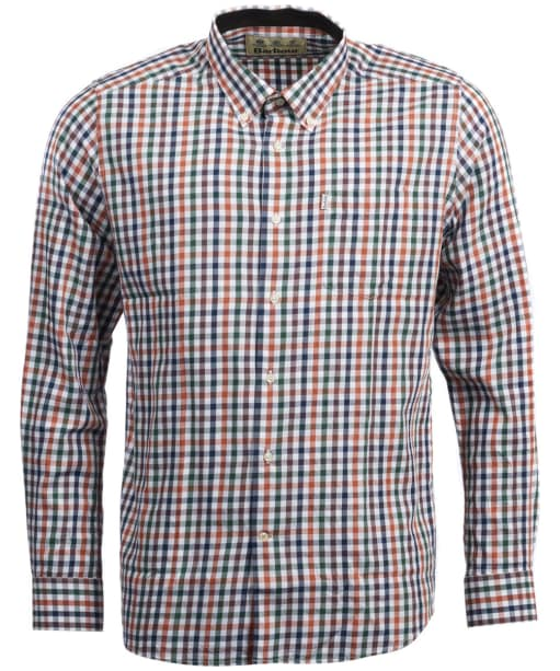Men's Barbour Harlaw Wool Mix Shirt - Rustic