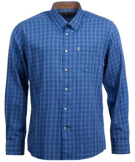 Men's Barbour Charlton Wool Mix Shirt - Chambray
