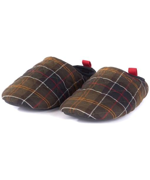 Men's Barbour Guthrie Mule Slippers - Classic Tartan