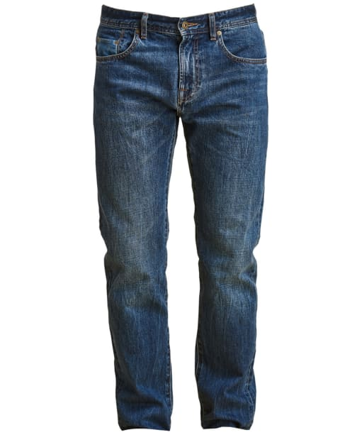 Men's Barbour Regular Fit Jeans - Heavy Wash