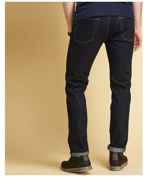 Men's Barbour Regular Fit Jeans - Back
