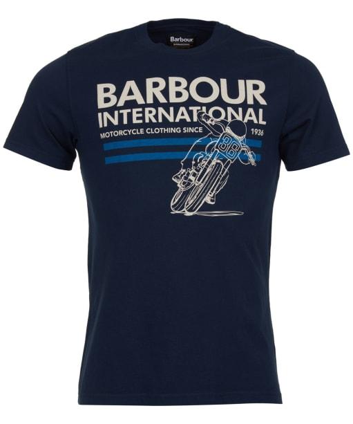 Men's Barbour International Fuel Tee - Navy