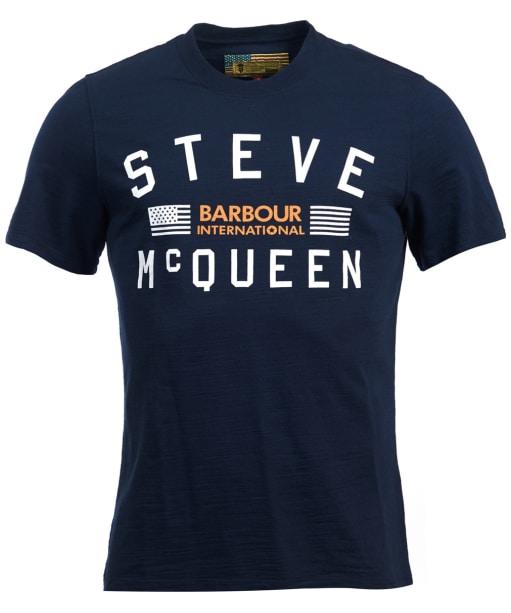 Men's Barbour Steve McQueen Mallet Tee - Navy