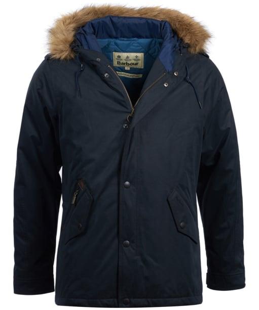 Men's Barbour Yearling Waterproof Jacket - Navy