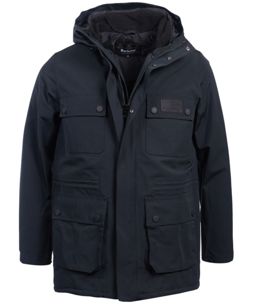 Men's Barbour International Endo Waterproof Jacket - Black