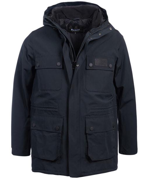 Men's Barbour International Endo Waterproof Jacket - Black