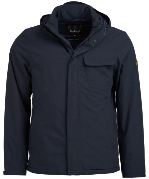 Men's Barbour International Triple Waterproof Jacket - Navy