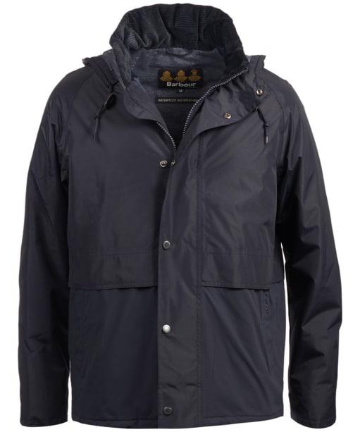 Men's Barbour Rathlin Waterproof Jacket - Navy