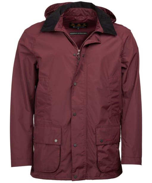 Men's Barbour Ashbrooke Waterproof Jacket - Bordeaux