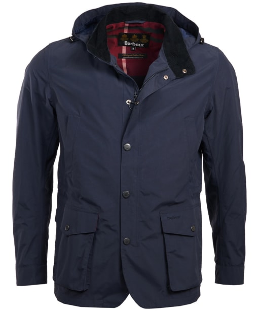 Men's Barbour Cookney Waterproof Jacket - Navy