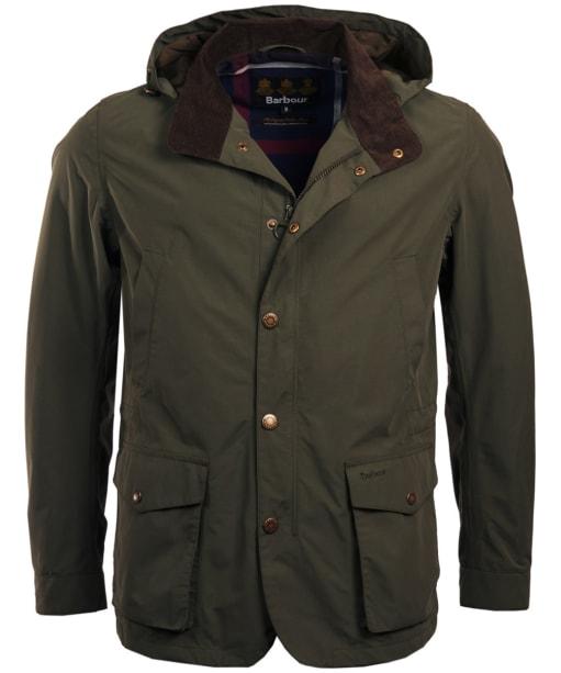 Men's Barbour Cookney Waterproof Jacket - Olive