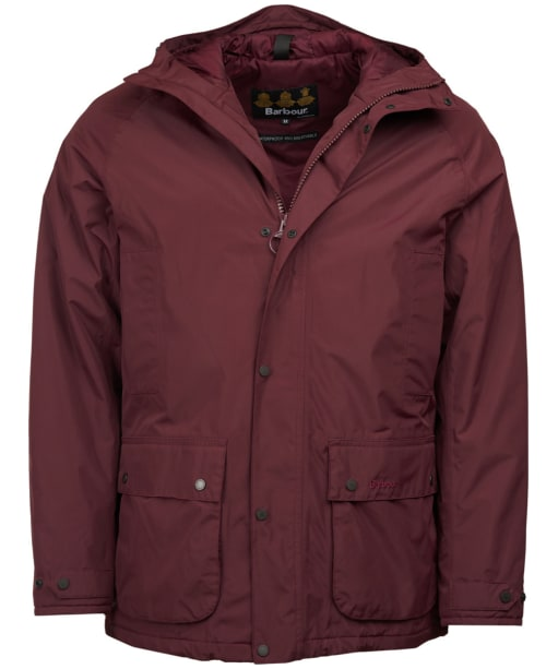 Men's Barbour Southway Waterproof Jacket - Bordeaux