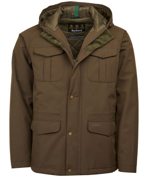Men's Barbour Whitstable Waterproof Jacket - Olive