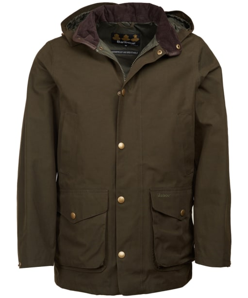 Men's Barbour Mallaig Waterproof Jacket - Olive