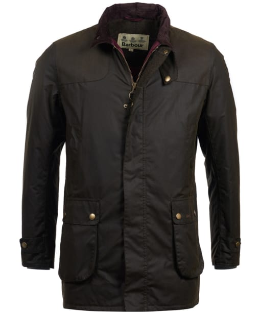 Men's Barbour Cartmel Wax Jacket - Olive