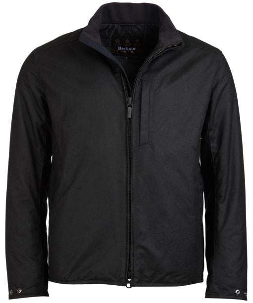 Men's Barbour International Darley Waxed Jacket - Black