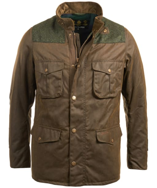 Men's Barbour Tresco Waxed Jacket - Olive