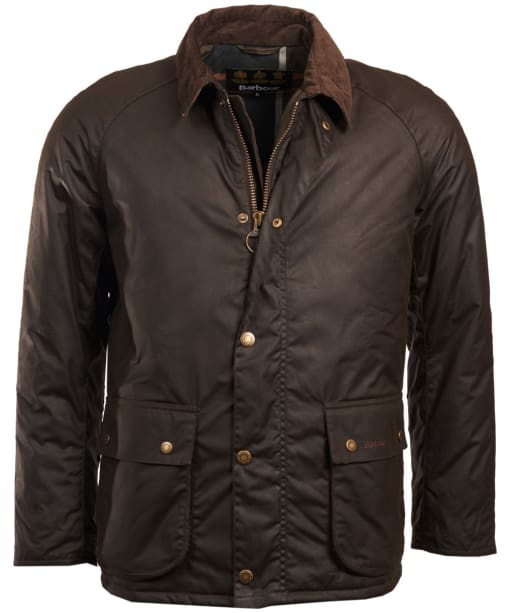Men's Barbour Strathyre Waxed Jacket - Olive