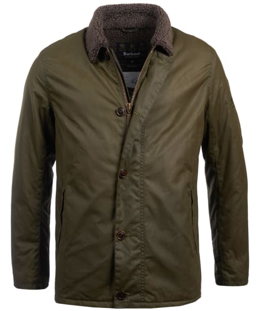 Men's Barbour Steve McQueen Havasu Wax Jacket - Archive Olive