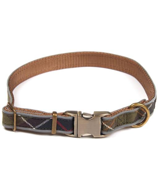 Barbour Tartan Reflective Dog Collar - Classic Tartan