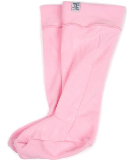 Barbour Fleece Wellington Socks - Soft Pink
