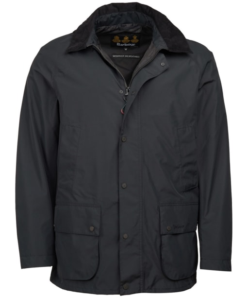 Men's Barbour Ashbrooke Waterproof Jacket - Black