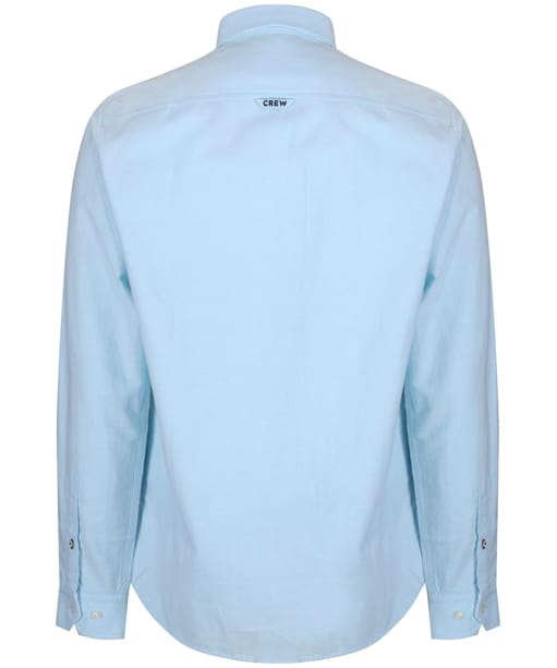 Men's Crew Clothing Oxford Slim Shirt - Blue Topaz