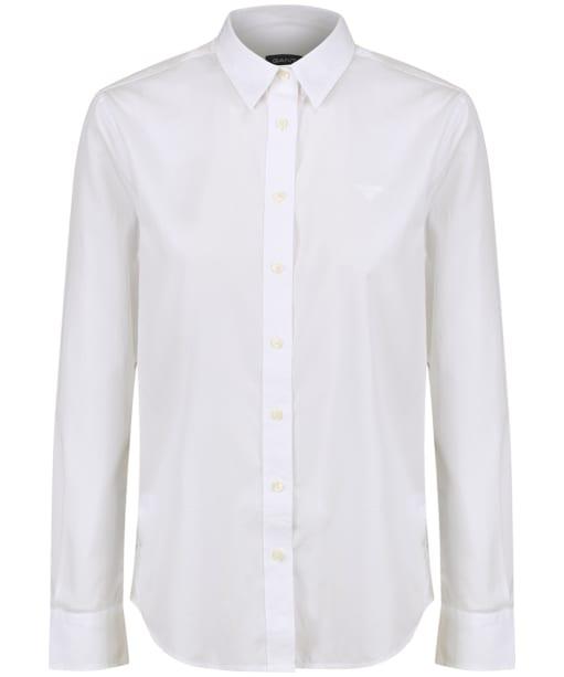 Women's GANT Broadcloth Shirt - White