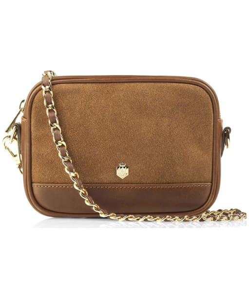 Women's Fairfax & Favor The Madison Suede Bag - Tan Suede