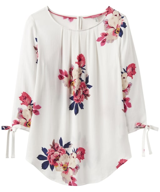 Women's Joules Trisha Shell Top - Cream Bircham Bloom