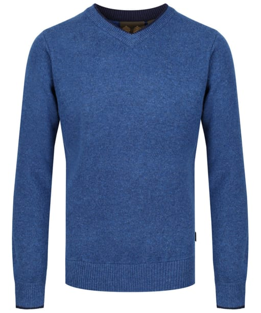 Men's Musto Shooting V-Neck Sweater - Blue Lake
