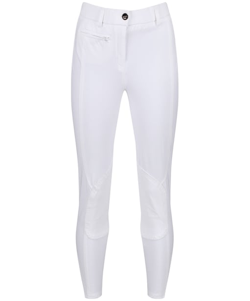 Women's Musto Essential Riding Breeches - White / White