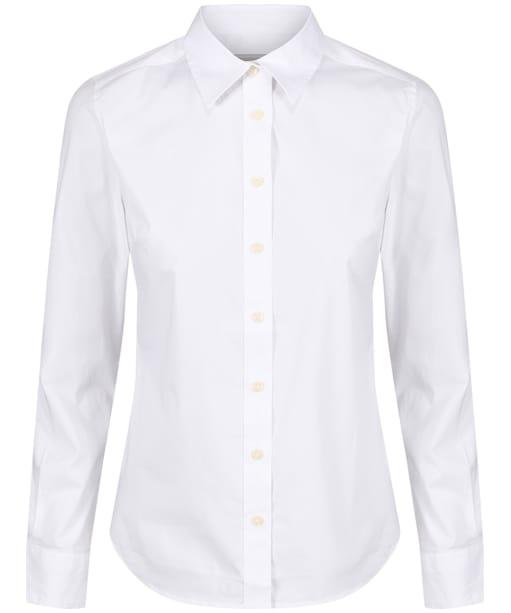 Women's Schoffel Suffolk Shirt - White