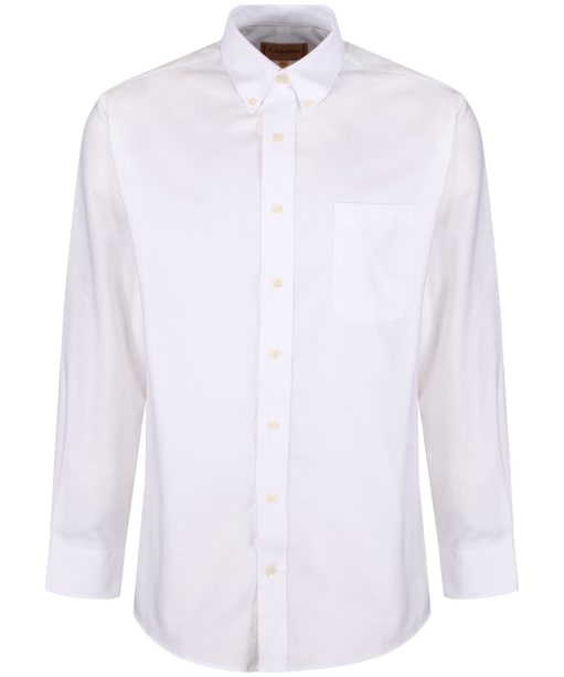 Men's Schoffel Oxford Shirt - White
