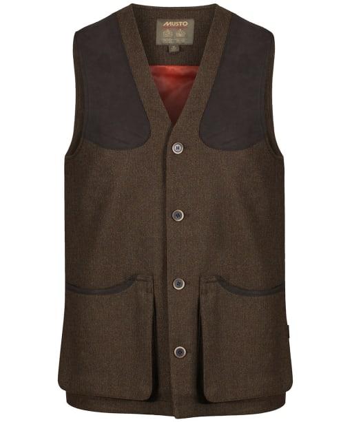 Men's Musto Stretch Technical Tweed Waistcoat - Thornbury