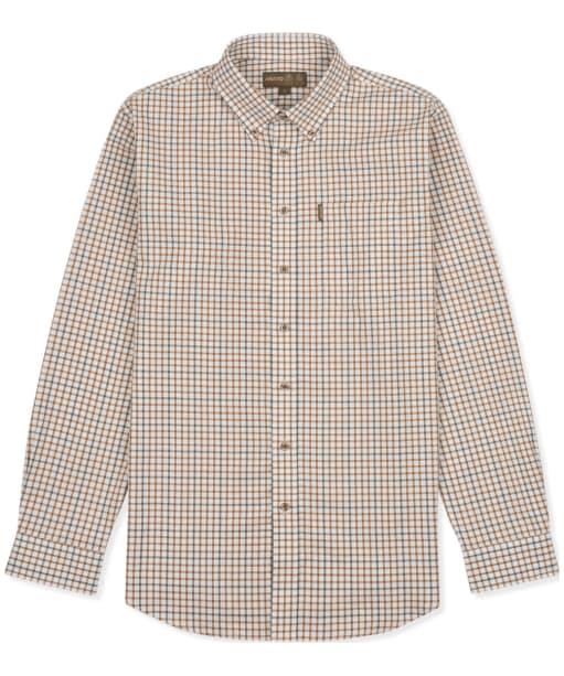Men's Musto Classic Button Down Check Shirt - Keldy Tabac