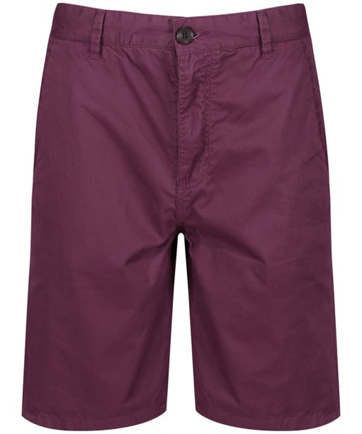 Men's Crew Clothing Bermuda Shorts - Washed Plum